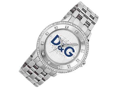 Dolce & Gabbana DW0133 - Reloj para hombres, correa de acero inoxidable color plateado