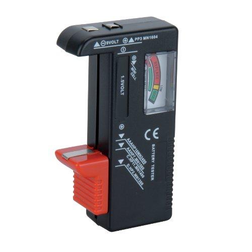 Unitec 46021 Universal Batterieprüfgerät 1.5 V/9 V
