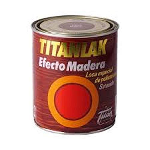 Titanlak - Laca efecto madera 375 ml wengue