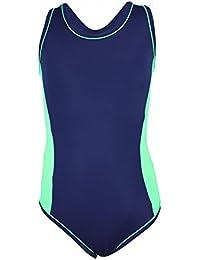 Aquarti Mädchen Badeanzug Racerback Kinder Schwimmanzug