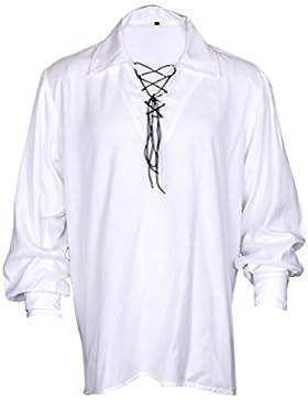 MyGothicShop -  Camicia Casual  - Asimmetrico - Uomo