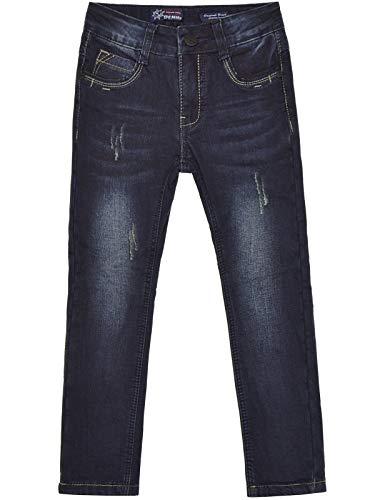 BEZLIT Jungen Kinder Jeans-Hose Thermo-Hose Freizeit-Hose Regular Fit Gefüttert 22886 Blau 104