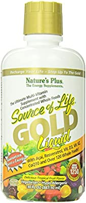 Nature's Plus Source of Life Gold Liquid 887.10ml by Natures Plus
