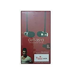 Vingajoy Bluetooth GVT-3513 Stereo Sports Headset with Calling Features for Android/iOS Devices (Color May Vary)