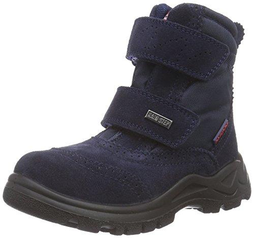 Naturino NATURINO VILLA, Stivaletti da neve a gamba corta, imbottitura pesante Unisex - bambino, Blu (Blau (Blau  9101)), 23