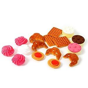 Learn and Play Aprende y Juega Little Market pastelería Los Juegos de simulación de Juguete (19 Piezas)