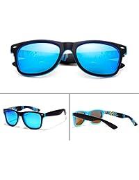 Gafas De Sol Polarizadas Duraderas Marco De Sun Sunglasses Conducción Bicicleta Béisbol Running Golf,Blue