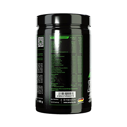 ZEC+ Pre Workout Booster KICKDOWN 2.0 - 2