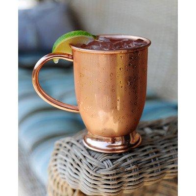 alchemade Kupfer Barrel Tasse für Moskau mulesêby alchemade fein 16OZ Copper Barrel Mug With Base 16 Oz Barrel Mug