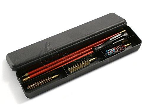 Putzset Pflegeset für Langwaffen Büchsen verschiedene Kaliber (4,5 mm - 9 mm) (Kaliber 9 mm - M5-Gewinde) -