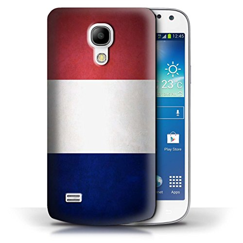 Etui / Coque pour Samsung Galaxy S4 Mini / Columbia/Colombie conception / Collection de Drapeau France/français