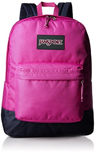 Jansport Negrolabel Superbreak Backpack (Cyber Pink)