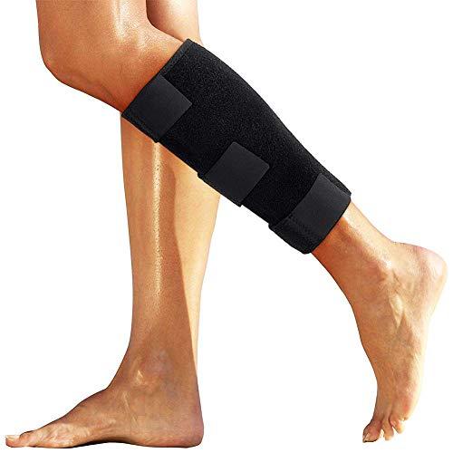 Wadenbandage, Doact Verstellbare Kompressions-Wadenbandage Bandage für Zog Calf Muskelschmerzen Heftiges Wadenverletzung, Passend für Männer und Frauen