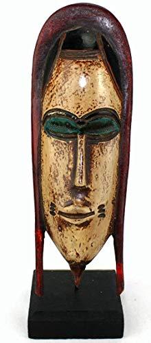 afriqueartdecoration.com Masque Passeport sur Socle 6520-S6V-1810