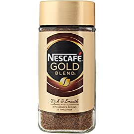 NESCAFÉ GOLD Blend Instant Coffee Jar, 200 g (Pack of 6)