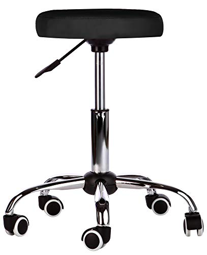 Massage Beauty Therapy Gas Stool Height Adjustable - BLACK Test