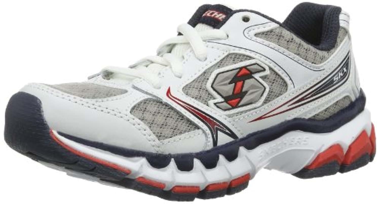 Skechers Boys' JagzGlum Slippers White Size: 1