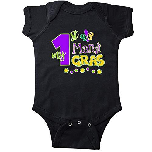 Huahai My 1st Mardi Gras with Dots Infant Creeper