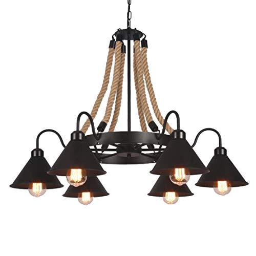 Chitty lampadario in ferro battuto di marijuana creativa retrò lampadario in sospensione retrò design industriale decorativo tavolo da pranzo ristorante bar lampadario decorazione