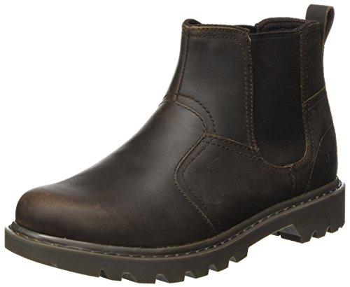 Caterpillar Men's Thornberry Chelsea Boots, Brown (Mens Brown), 9 UK 43 EU