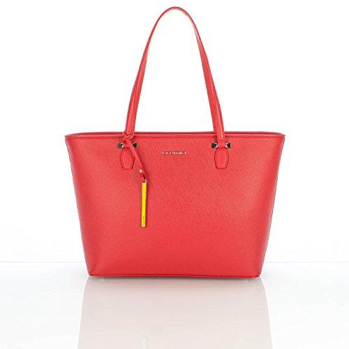 Borse Shopping PERLA Cod. 1402634 COL. ROSSO