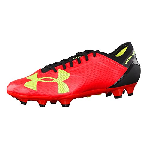 Under Armour Fussballschuhe Spotlight BL FG 1272300 Rouge - Rocket Red/High-Vis Yellow/Black