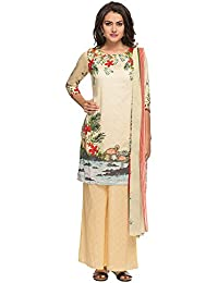 [Sponsored Products]Kashish By Shoppers Stop Womens Printed Palazzo Kurta Dupatta Set