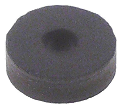 Dichtung für Espressomaschine für Dampf-/Wasserhahn Innen ø 4mm Materialstärke 4,0mm Viton ø 13mm -