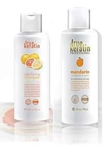 Curl Bounce : Lissage brésilien pour des boucles et ondulations parfaites (shampooing clarifiant + lissage)