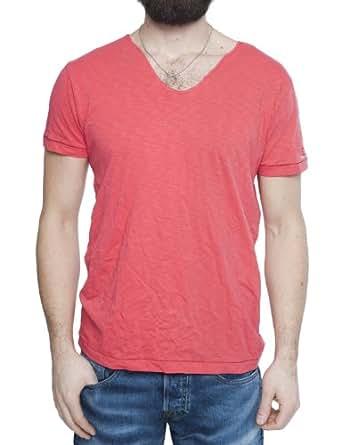 Replay Herren T-Shirt M6095.000.21026, Gr. 52 (L), Rot (358red)