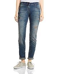 CECIL Damen Jeans Charlize Slim 370986
