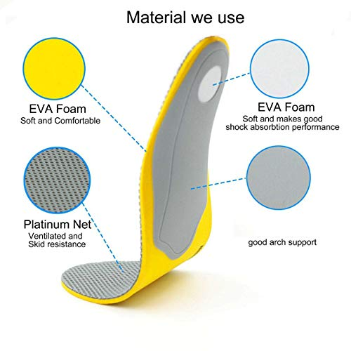 Sree Traders Flat Feet Arch Support Orthopedic Shoe Insoles For Men And Women