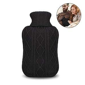 bouillotte unibelin bouteille d 39 eau chaude avec housse. Black Bedroom Furniture Sets. Home Design Ideas