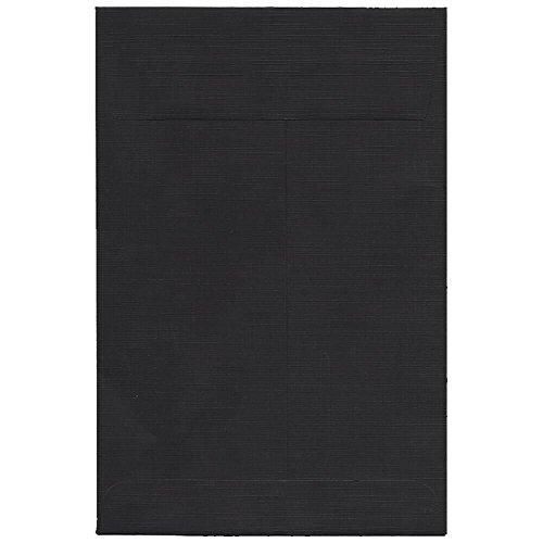 Jam Paper 6 X 9 Open End Katalog - Nr. Verschluss - Papierumschlag - 100 Umschläge Pro Box Schwarz -