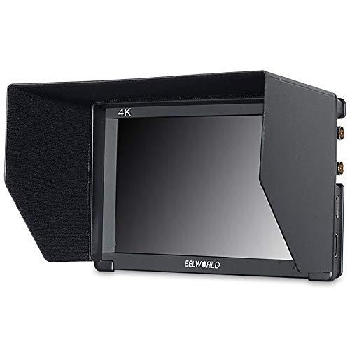 LFTS 7-Zoll-EIN-Kamera-DSLR-Monitor Voll-HD-Fokus-Video-Assistent 1920 x 1200 IPS mit 4K HDMI 3G SDI-Eingang Ausgang Histogramm Camcorder-Filmübertragung Filme erstellen