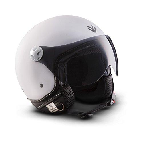 """ARMOR Helmets ARMOR · AV-84 """"Matt White"""" (Weiß) · Jet-Hel..."""