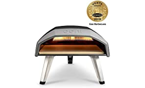 Ooni Koda Outdoor Pizza Oven - Pizza Maker - Portable Oven - Gas Oven - Award Winning Pizza Oven with Pizza Stone
