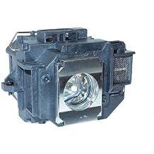 YODN ELPLP58 - Lámpara de repuesto para EPSON EB-S9, EB-W10, EB-W9, EB-X10, EB-X9, EB-X92, EB-S10, EX3200, EX5200, EX7200, PowerLite 1220, EB-S92, PowerLite 1260, PowerLite S10+, PowerLite S9 y VS 200