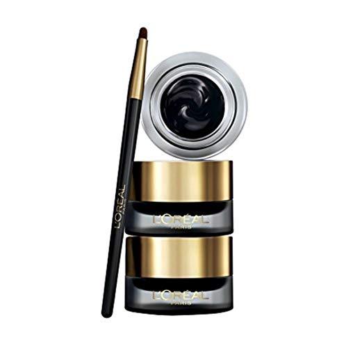 LOréal Paris Eyeliner Gel Super Liner Gel Intenza Texture Gel e Tratto Spesso per un Risultato Ottimale Nero