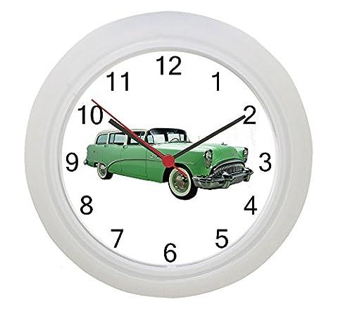 1954 Buick Station Wagon Wall Clock
