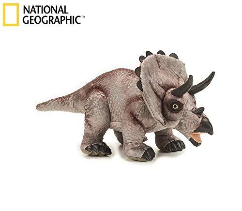 Lelly 770780 - National Geographic Triceratops, Longitud 42 cm / 22 cm de Altura