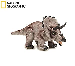 Lelly 770780 - National Geographic Triceratops, Longitud 42 cm / 22 cm de Altura
