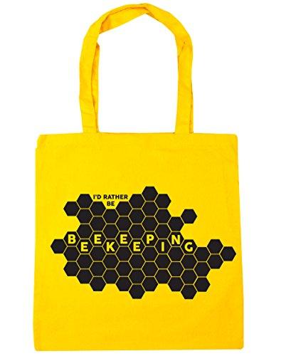 HippoWarehouse - Bolsa de playa de Algodón Mujer amarillo amarillo Talla única
