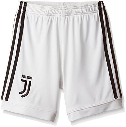 Adidas Juve H SHO Y Pantalón Corto 1ª Equipación Juventus, Niños, (Blanco/Negro), 176 (15/16 años)