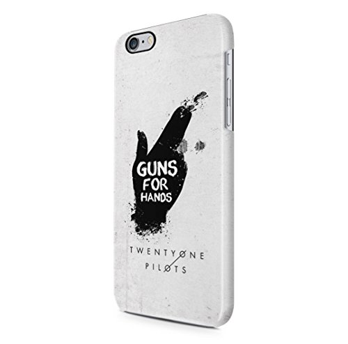 Twenty One Pilots Guns For Hands iPhone 6, 6s Hard Plastic Case Cover