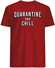 Quarantine and Chill Coronavirus Tshirt 2020 - Men