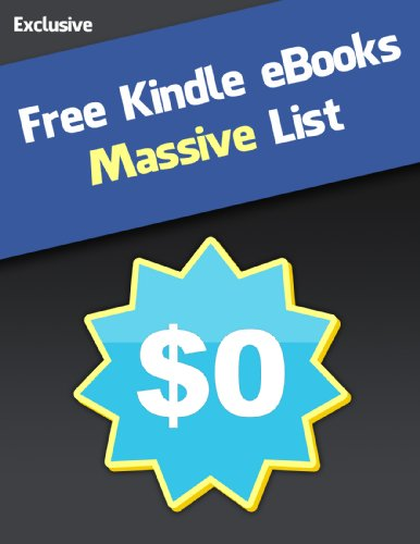 Free Kindle eBooks - Where to Find Free Books (Massive List)