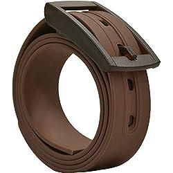 Plug Belt Marron- Cinturon biodegradable, resistente y libre de metales.