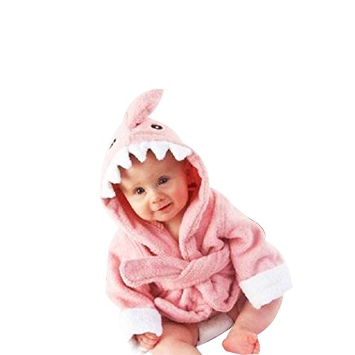 aby Cotton Animal Bade Strickjacke Cardigan Nightgown Spa Handtuch Strandtuch (Löwe) (Dinosaur, S) ()