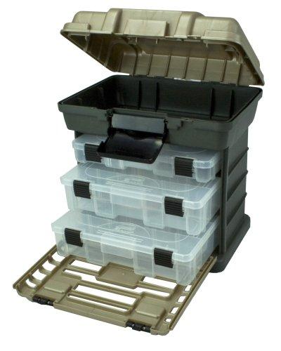 Plano Formen 1363Stow n Go Werkzeugkoffer, graphit grau und Sandstein